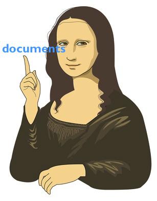 Suggestion of Mona Lisa