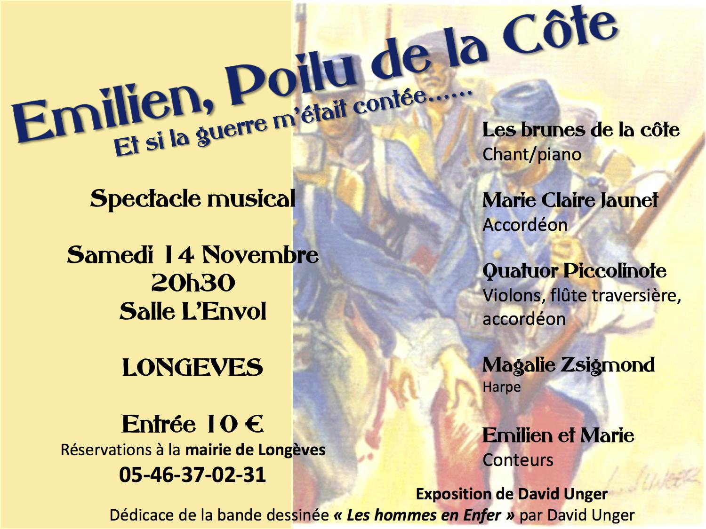 Affiche concert Longeves